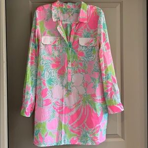 Lilly Pulitzer Cover Up/Dress
